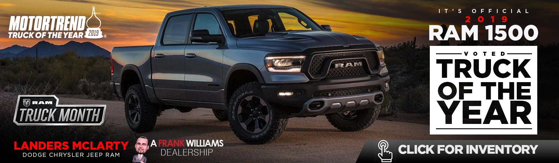 2019 Ram 1500 - Voted Truck Of The Year