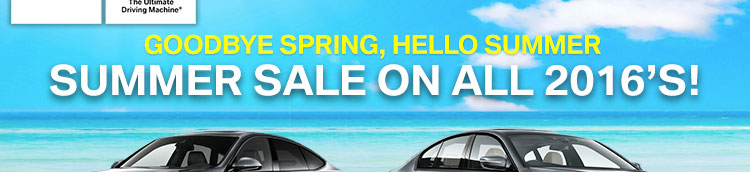 Spring Sale on all 2016's!